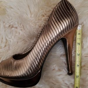BCBGeneration Shoes - BCBG Gold Pl-Lexey pump